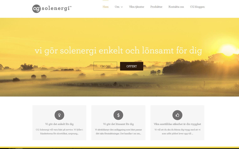 CG Solenergi